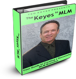 Ted Keyes E-Book - The Keyes To MLM - Los Angeles CA