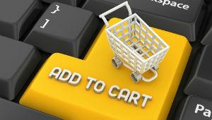 shopping cart keyboard