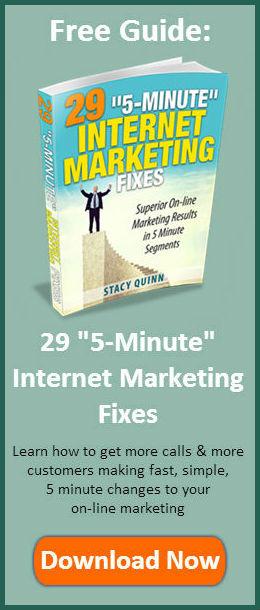 29 5 Minute Internet Marketing Fixes Banner - Narrow